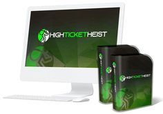 'High Ticket Heist' is one of the best ways to hijack non make-money niches, and profit from them, using high ticket offers. High Ticket Heist reveals the 90 second process used to make high ticket sales.