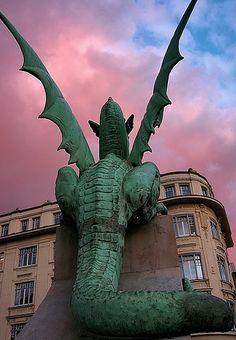 The Dragon of Ljubljana, Slovenia
