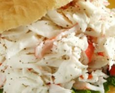 Doesn't our Seafood Salad Sandwich look delightful? The fresh taste of seafood is always welcome. We have made ours from imitation crabmeat ...
