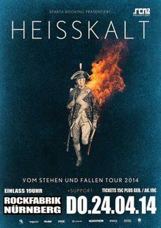 New-Metal-Media der Blog: Der New-Metal-Media Eventtipp: HEISSKALT in der Rockfabrik Nürnberg #news #rock #event #germany