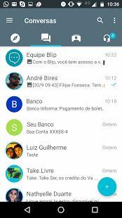 Blip Mensagens: miniatura da captura de tela