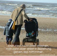 Man kann nicht direkt erziehen,  man kann aber direkt in Beziehung gehen, das hilft immer. Mathias Voelchert • bimw.de