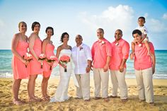 Coral beach wedding, Destination Wedding, Dreams Punta Cana .... HDC Photography