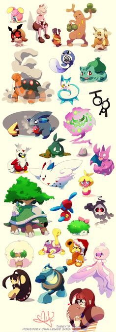 Pokeddex Challenge 2012 by tabby-like-a-cat on DeviantArt