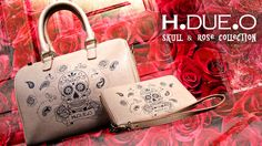 Skull & Rose collection. Umbrellas, bags, scarves and more... Click here for the full collection: http://www.hdueo.co.uk/product-tag/skull-rose-collection/