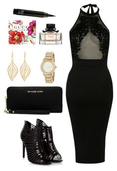 """""""Sin título #1783"""" by annaniicolle ❤ liked on Polyvore featuring Steve Madden, Pilot, MICHAEL Michael Kors and DKNY"""