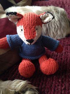 Mr fox from little cotton rabbits patten
