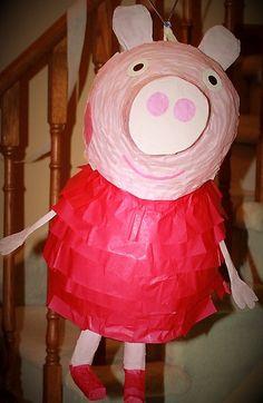How to make a Piñata/Pinata Peppa Pig