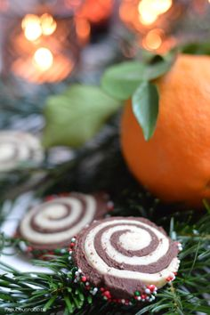 ♥ Orangen-Schokoladen schwarz/weiß Gebäck {Fröhlichen dritten Advent}   fabulous