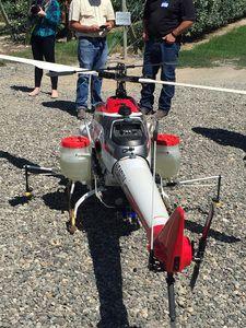 Yamaha UAV finding role in Washington state cherry orchards