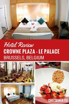 Where to stay in Brussels - Whether you're a business traveller or a tourist, the Crowne Plaza Brussels - Le Palace is an elegant, luxury hotel in the city centre and business district of the capital of Belgium. Le Palace, Palace Hotel, Europe Travel Guide, Travel Tips, Travel Advice, Slow Travel, Travel Guides, Travel Destinations, Hotels And Resorts