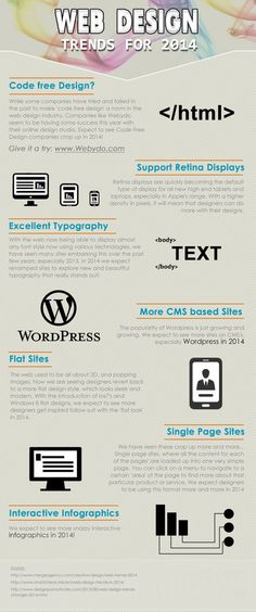 Tendencias en Diseño Web para 2014 / Web Design Trends For 2014 Web Design Tips, Web Design Trends, Site Design, Ux Design, Tool Design, Graphic Design, Flat Design, Inbound Marketing, Marketing Digital