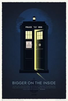 50th Anniversary 'Doctor Who' Poster Print