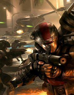 HALO: Charity Auction image by Cryptcrawler on DeviantArt Halo 3 Odst, Halo 5, Armadura Do Halo, Rpg Cyberpunk, Science Fiction, Design Spartan, Halo Armor, Halo Collection, Halo Series