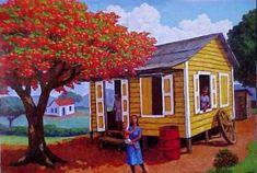 Pinturas Tipicas De Puerto Rico | Pinturas Acuarela Cuadros Acrílico Cuadros Óleo Pinturas Vitrales