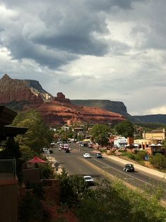 Downtown Sedona, Arizona,