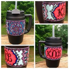 Custom Painted Bubba Keg by KatHamCraftsAndGifts on Etsy