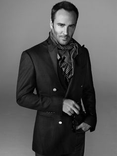 """TOM FORD    """"If I was ever going to become a good designer, I had to leave America. My own culture was inhibiting me. Too much style in America is tacky. It's looked down upon to be too stylish. Europeans, however, appreciate style."""""""