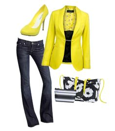 White Poppy Soft Utility Tote and Ribbon Stripe Cool Clip Thermal Pouch paired with Citron...looks so fun for spring!