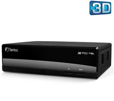 FANTEC 3DAluPlay - without hard drive - 3D Full HD multimedia receiver