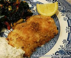 Fluffy Chix Cook: Healthy Oven Fried Fish Rocks Low Carb - Just In Time For Good Friday. Who needs a deep fat fryer and high carb flour?