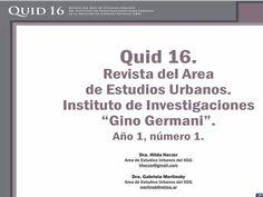 Editada desde el 2011 por el Área de Estudios Urbanos.  Tiene como objetivo contribuir a la divulgación de investigaciones sobre la cuestión urbana y ambiental.
