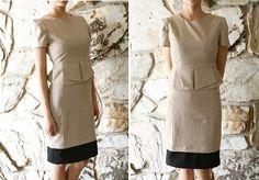 lengthen a skirt/dress for work