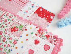 Scrappy Placemats with ricrac trim - Pretty By Hand