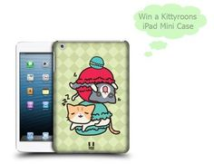 #Win a super cute 'Kittyroons' ipad mini case with @SerenityYou 'ipad #ipadcase #competition