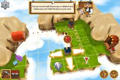 Kings Can Fly - Screenshot | Kings Can Fly is a fun and lighthearted puzzle game where you build wind fans to guide the King's airships through puzzles. #kingscanfly | More info: http://www.kingscanfly.com/