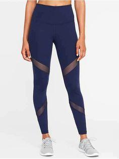 93da7408dcf88 7 Best Mesh panel leggings images | Training pants, Workout pants ...