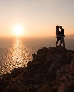 Love Story in Mykonos island! Pre wedding photoshoot.