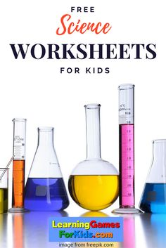 A great place to find science worksheets by grade level.