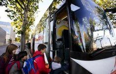 La Policía Local realiza estos días una campaña de vigilancia y control del transporte escolar en Fuenlabrada coincidiendo con la campaña de la DGT.