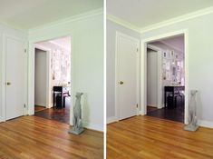 Love YHL, love the idea of crown molding around an open doorway.  Maybe an option for my dining room.