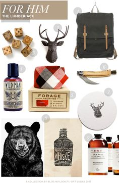 Lumberjack inspired gifts for the MR.