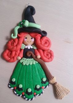 This handcrafted polymer clay snowman ornament was carefully crafted with a keen attention to detail and made with love.  The item pictured is