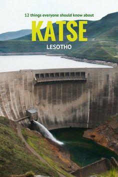 12 things everyone should know about Katse Dam, Lesotho #Africa #Lesotho #Katse #travel