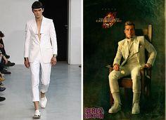 en este traje fue inspirado el traje de Peeta el cual fue diseñado poró Juun J