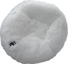 BESSIE AND BARNIE 42-Inch Bagel Bed for Pets, Large, Snow White >>> Continue to the product at the image link.