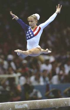 Shannon Miller was another childhood idol of mine. Looked up to her and Dawes...