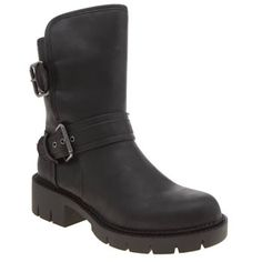 Rocket Dog Black Glenn Womens Boots Rocket Dog have your new season styling sorted, as their Glenn boot arrives. The faux-leather black upper features double buckle strap fastenings, lined with a faux-shearling for extra insulation on c http://www.MightGet.com/january-2017-13/rocket-dog-black-glenn-womens-boots.asp