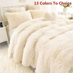 Faux Fur Blanket, Sofa Blanket, Cute Bedding, Grey Bedding, Bedding Decor, Rustic Bedding, Boho Bedding, Modern Bedding, Trendy Bedroom