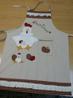 Sewing Art, Sewing Crafts, Sewing Projects, Quilt Block Patterns, Sewing Patterns, Yarn Crafts, Fabric Crafts, Towel Apron, Christmas Aprons