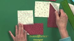 http://www.McCallsQuilting.com/BBW - Erin Russek demonstrates a technique to make the classic LeMoyne Star quilt block without the hassle of set-in seams. Wi...