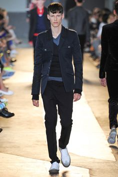 See all the Collection photos from Diesel Black Gold Spring/Summer 2015 Menswear now on British Vogue Fashion Show, Mens Fashion, Milan Fashion, Spring Summer 2015, Diesel, Black Gold, Menswear, Vogue, My Style