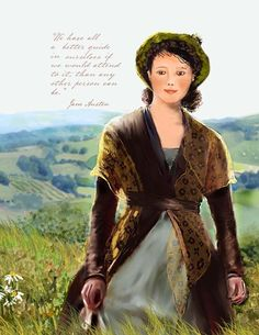 Note Cards  Jane Austen  We Have All a Better Guide by TurtleDoves, $8.50