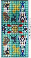 free-beading-pattern-wallet-indian-deer-rabbit