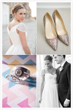 Love the dress, shoes, but especially the ring.  (better in gold.)