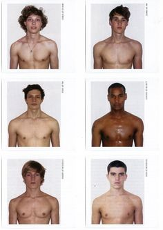 Male Model Polaroids